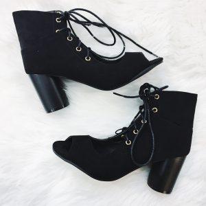 Gypsy Soul Peep Toe Boot